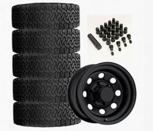 Genuine Packages Bf Goodrich All-terrain T/a Ko2 31x10.50r15 And Trail Master Tm9 15x8 Wheel Package - Set Of 5 - Tirepkg85 Tirepkg85 Tire And Wheel P