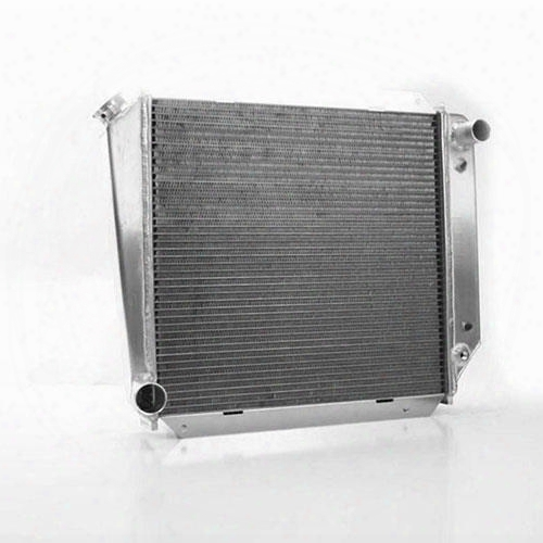 Griffin Thermal Products Griffin Thermal Products Performance Aluminum Radiator For Ford V8 Engines With Automatic Transmission - 7-266bv-fax 7-266bv-