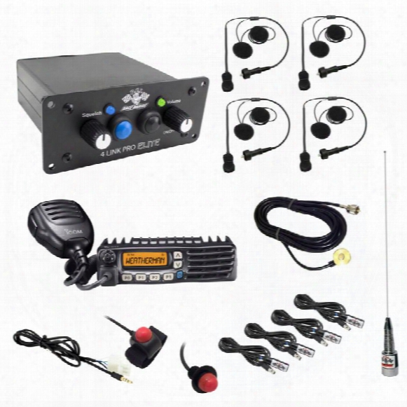 Pci Race Radios Pci Race Radios California Ultimate 4 Seat Package With Bluetooth And Dsp - 2500 2500 Utv Communications