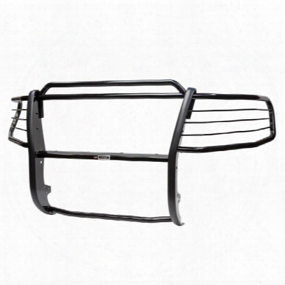Westin Westin Sportsman 1-piece Grille Guard (black) - 40-3805 40-3805 Grille Guards