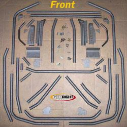 Genright Genright Complete Roll Cage - Grc-4001 Grc-4001 Roll Cages & Roll Bars
