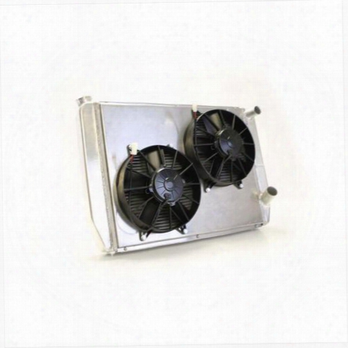 Griffin Thermal Products Griffin Thermal Products Performance Radiator/fan Kit - Cu-58242-01 Cu-58242-01 Radiator Electric Fan Combination Kit