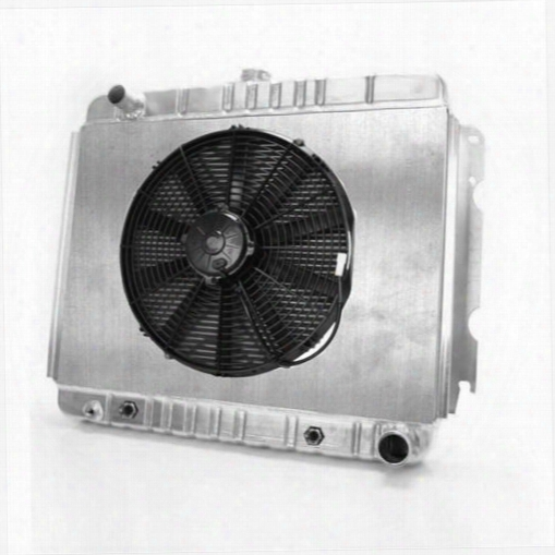Griffin Thermal Products Griffin Thermal Products Performance Aluminum Radiator And Fan Kit - Cu-582lc-bax Cu-582lc-bax Radiator Electric Fan Combinat