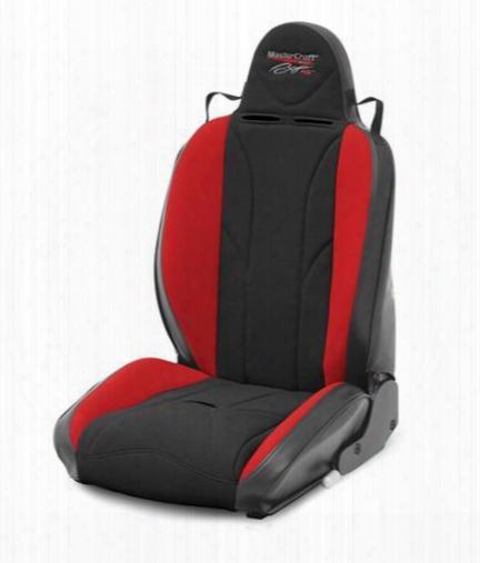 Mastercraft Safety Mastercraft Safety Baja Rs Reclining Seat (black/ Rd) - 504012 504012 Seats