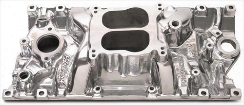 Edelbrock Edelbrock Performer Vortec Intake Manifold (polished) - 21161 21161 Intake Manifold