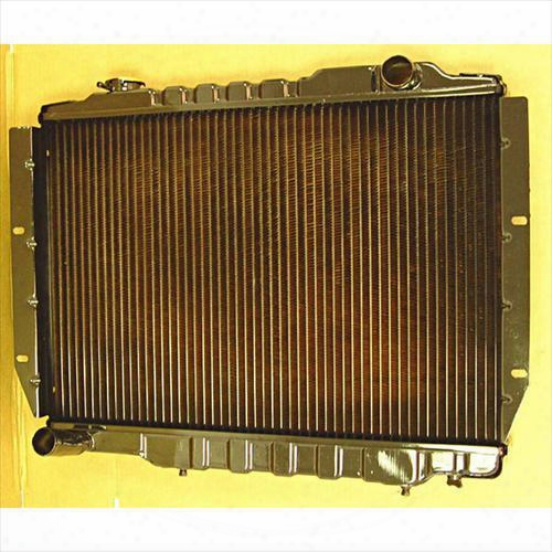 Omix-ada Omix-ada Replacement 2 Core Radiator For 4.2l 6 Cylinder Engine With Automatic Transmission - 17101.1 17101.10 Radiator
