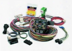 Painless Wiring Painless Wiring 21 Circuit Pro-street Wiring Harness - 50002 50002 Chassis Wire Harness