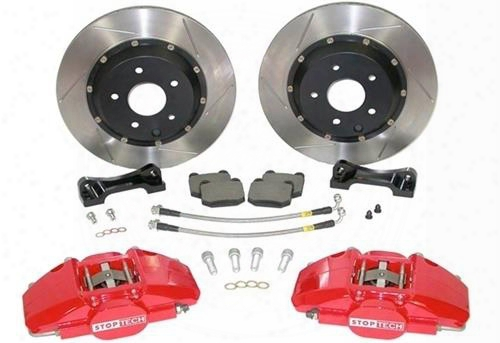 Power Slot Power Slot Stoptech Big Brake Kit (yellow) - 83.836.4600.81 83.836.4600.81 Disc Brake Calipers, Pads And Rotor Kits