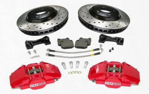 Power Slot Power Slot Stoptech Big Brake Kit (natural) - 83.320.4700.62 83.320.4700.62 Disc Brake Calipers, Pads And Rotor Kits