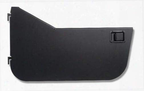 Warrior Warrior Smooth Black Steel Half Doors With Proper Style Paddle Handles (black) - S930door S930door Door