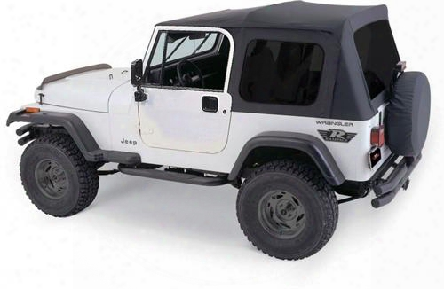 Rampage Rampage Complete Soft Top (black Diamond) - 68035 68035 Soft Tops