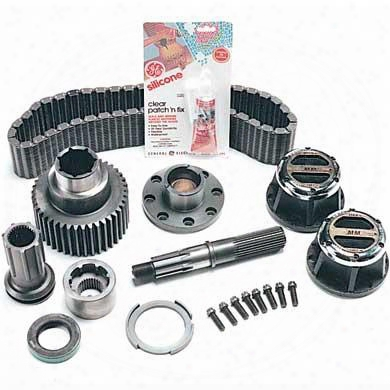 Mile Marker Mile Marker Quadra-trac Part Time Conversion Kit - 95-15204 95-15204 Transfer Case Part Time Conversion Kits