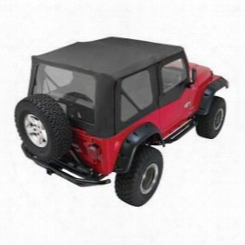 Rampage Rampage Complete Soft Top (black Diamond) - 68335 68335 Soft Tops