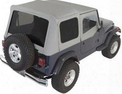 Rampage Rampage Complete Soft Top (charcoal Gray) - 68211 68211 Soft Tops