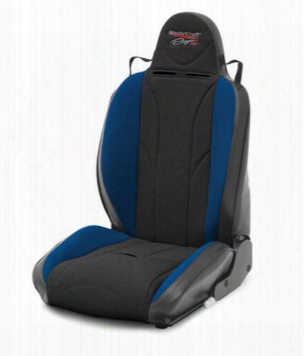 Mastercraft Safety Mastercraft Safety Baja Rs Reclining Seat (black/ Blue) - 506013 506013 Seats