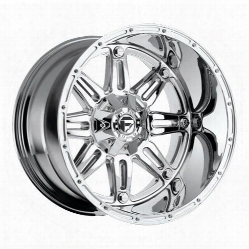 Mht Fuel Offroad Wheels Mht Fuel Offroad D530 Hostage Deep, 20x12 Wheel With 8 On 170 Bolt Pattern - Chrome - D53020201747 D53020201747 Mht Fuel Off R