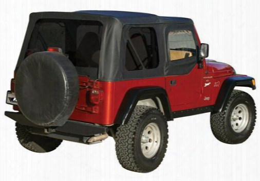 Rampage Rampage Complete Soft Top (black Diamond) - 68535 68535 Soft Tops
