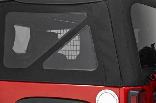Bestop Bestop Tinted Window Kit (matte Black Twill) - 58422-17 58422-17 Window Kits