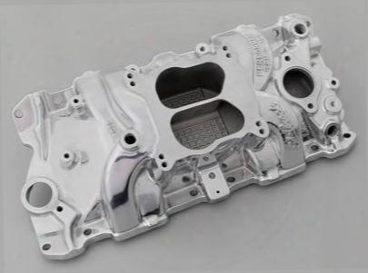 Edelbrock Edelbrock Performer Rpm Q- Intake Manifold (polished) - 71041 71041 Intake Manifold