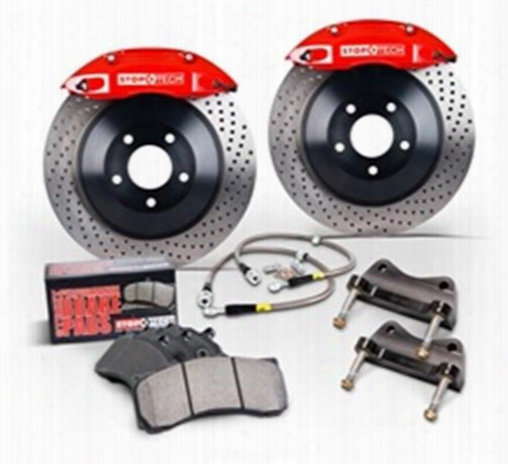 Power Slot Power Slot Stoptech Big Brake Kit (natural) - 82.332.6800.21 82.332.6800.21 Disc Brak Calipers, Pads And Rotor Kits