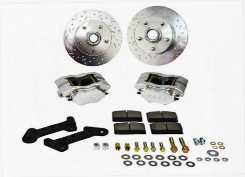 Stainless Steel Brakes Stainless Steel Brakes Competition Street Series Disc Brake Conversion Kit (anodized) - W123-25 W123-25 Disc Brake Conversion K