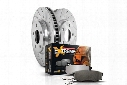 Power Stop Power Stop 1-Click Drilled And Slotted Brake Kit - K6162 K6162 Disc Brake Pad and Rotor Kits