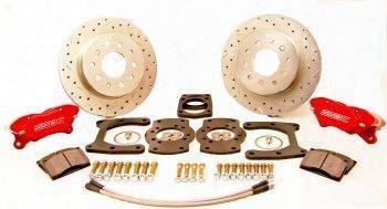 Stainless Steel Brakes Stainless Steel Brakes Competition Drum To Disc Kit (black) - W125-42bk W125-42bk Disc Brake Conversion Kits