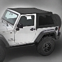 Bestop Bestop Replace-a-Top Trektop NX (Matte Black Twill) - 59722-17 59722-17 Soft Tops