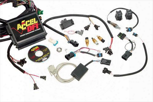 Accel Accel Gen Vii Spark/fuel Kit - 77025-3 77025-3 Fuel Injection Kits
