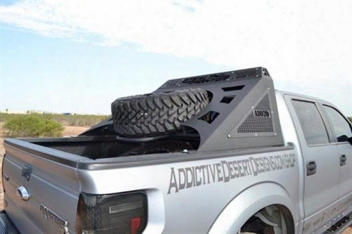 Addictive Desert Designs Addictive Desert Designs Stealth Fighter Chase Rack - C011201100103 C011201100103 Truck Bed Rack