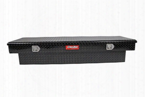 Dee-zee Dee Zee Red Label Single Lid Crossover Tool Box - Dz8170ltb Dz8170ltb Truck Bed Rail To Rail Toolbox