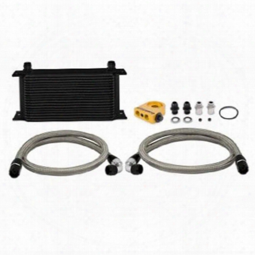 Mishimoto Mishimoto Thermostatic Oil Cooler In Black - Mmoc-ultbk Mmoc-ultbk Engine Oil Cooler