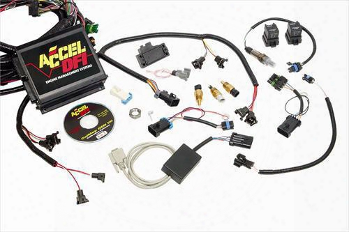 Accel Accel Universal Gen7plus Spark And Fuel Kit - 77040-2 77040-2 Fuel Injection Kits