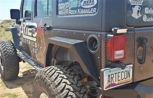 Artec Industries Artec Nighthawk Rear Fenders (bare Steel) - Jk2201 Jk2201 Tube Fenders