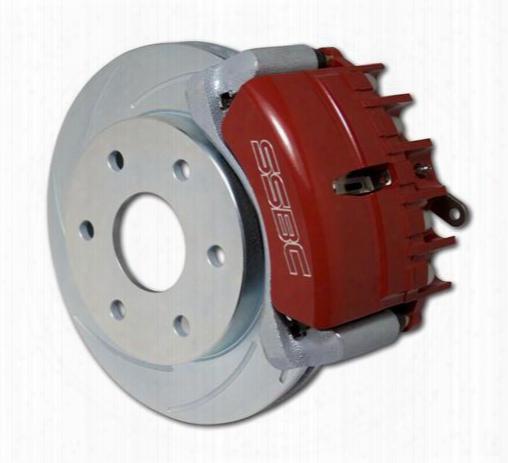Stainless Steel Brakes Stainless Steel Brakes Tri-power 3-piston Drum To Disc Brake Conversion Kit (black) - A126-48bk A126-48bk Disc Brake Conversion