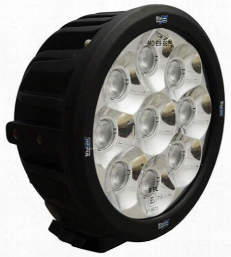 Vision X Lighting Vision X Lighting 6 Inch Round Transporter Wide Beam Led Light - 9110295 9110295 Offroad Racing, Fog & Driving Lights