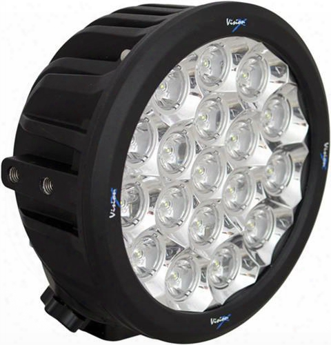Vision X Lighting Vision X Lighting 6 Inch Round Transporter Xtreme Narrow Beam Led Light - 9111018 9111018 Offroad Racing, Fog & Driving Lights