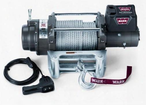 Warn Warn M12000 Self-recovery Winch - 17801 17801 12,000+ Lbs. Electric Winches