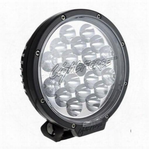 Lightforce Lightforce Led 180mm Driving Light (black) - Le040 Le040 Offroad Racing, Fog & Driving Lights