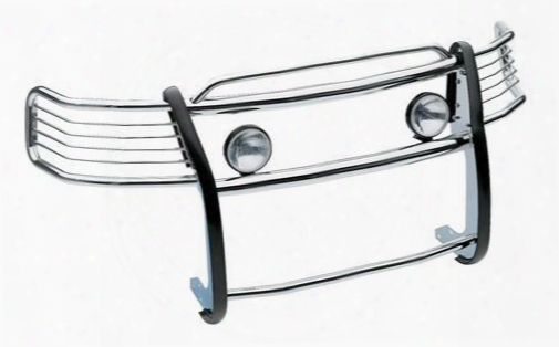 Westin Westin Sportsman 1-piece Grille Guard (polished) - 45-2370 45-2370 Grille Guards