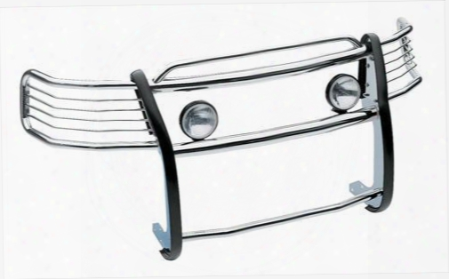 Westin Westin Sportsman 1-piece Grille Guard (polished) - 45-3600 45-3600 Grille Guards