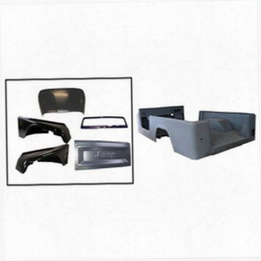 Omix-ada Omix-ada Steel Body Tub Kit - 12001.18 12001.18 Body Tub Kits