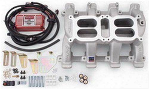 Edelbrock Edelbrock Rpm Air-gap Dual-quad Ls1 Intake Manifold (natural) - 7518 7518 Intake Manifold