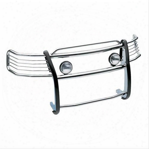 Westin Westin Sportsman 1-piece Grille Guard (polished) - 45-3680 45-3680 Grille Guards