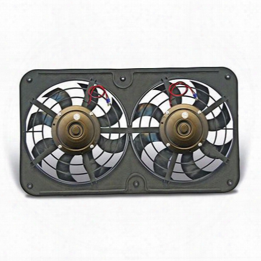 Flex-a-lite Flex-a-lite Lo-profile S-blade Electric Fan - 430 430 Electric Cooling Fan