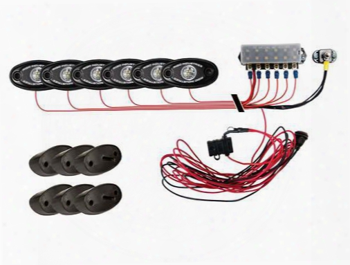 Rigid Industries Rigid Industries A-series White Led Rock Light Kit - 40025 40025 Offroad Racing, Fog & Driving Lights