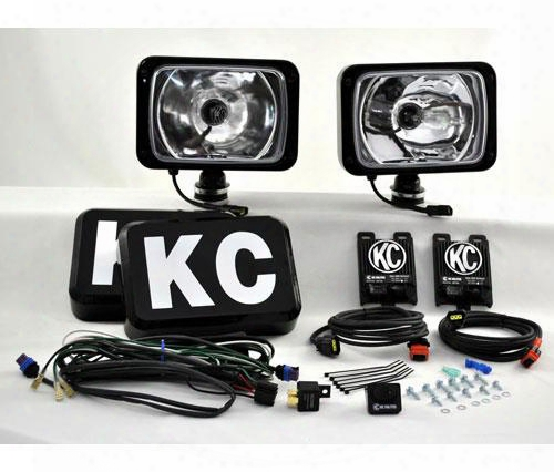 Kc Hilites Kc Hilites 6 Inch X9 Inch Hid Long Range Kit - 261 261 Offroad Racign, Fog & Driving Lights