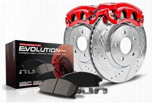 Power Stop Power Stop Power Stop 1-click Caliper Kits (natural) - Kc1886 Kc1886 Disc Brake Calipers, Pads And Rotor Kits