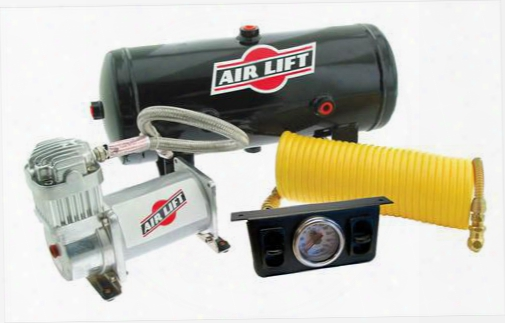Airlift Airlift On Board Air Compressor Kit - 25572 25572 Leveling Compressor Kits