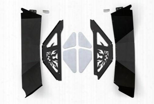 Poison Spyder Customs Rear Inner Fender Kit - Sydershell Coat Black 17-05-080p1 Fender Liner